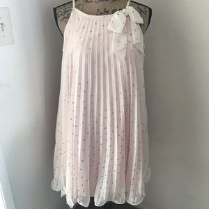 Pink and Gold Girls Party Dress